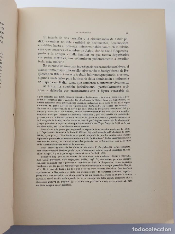 Libros de segunda mano: L-5713. EL COMENDADOR MAYOR DE CASTILLA DON LUIS DE REQUESENS. 1943. - Foto 5 - 288471898