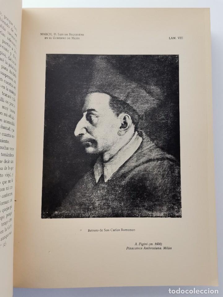 Libros de segunda mano: L-5713. EL COMENDADOR MAYOR DE CASTILLA DON LUIS DE REQUESENS. 1943. - Foto 6 - 288471898