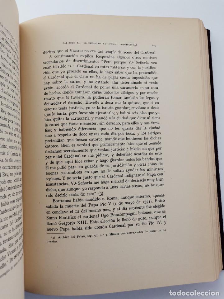 Libros de segunda mano: L-5713. EL COMENDADOR MAYOR DE CASTILLA DON LUIS DE REQUESENS. 1943. - Foto 9 - 288471898