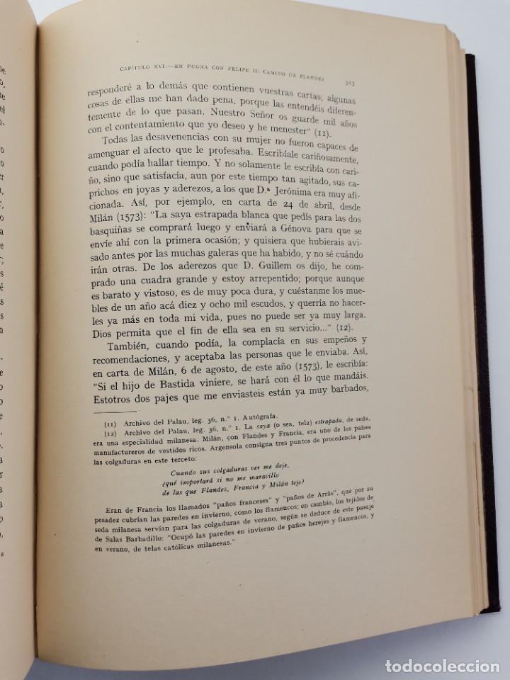 Libros de segunda mano: L-5713. EL COMENDADOR MAYOR DE CASTILLA DON LUIS DE REQUESENS. 1943. - Foto 13 - 288471898
