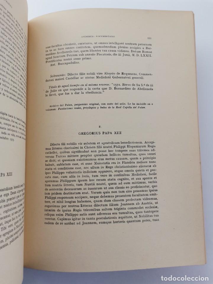 Libros de segunda mano: L-5713. EL COMENDADOR MAYOR DE CASTILLA DON LUIS DE REQUESENS. 1943. - Foto 14 - 288471898