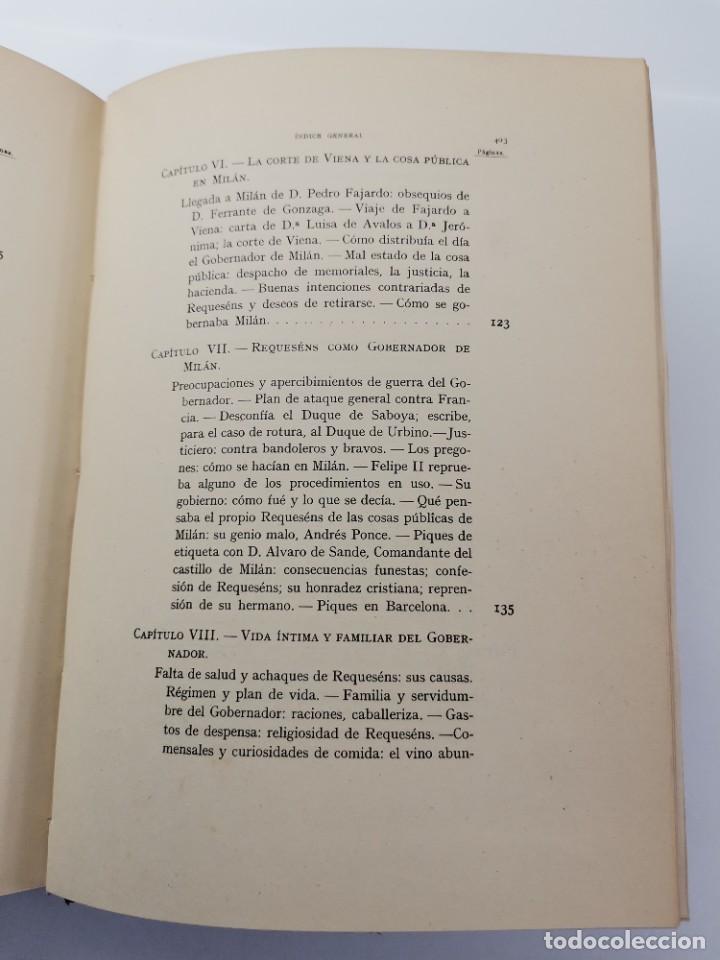 Libros de segunda mano: L-5713. EL COMENDADOR MAYOR DE CASTILLA DON LUIS DE REQUESENS. 1943. - Foto 15 - 288471898