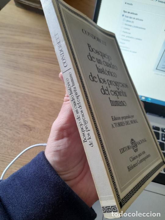 Libros de segunda mano: Bosquejo de un cuadro histórico de los progresos del espíritu humano Condorcet, J.A. Nicolas, - Foto 4 - 288489258