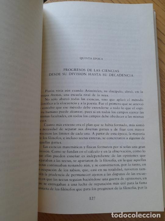 Libros de segunda mano: Bosquejo de un cuadro histórico de los progresos del espíritu humano Condorcet, J.A. Nicolas, - Foto 7 - 288489258