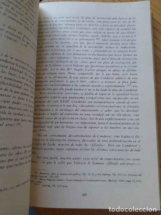 Libros de segunda mano: Bosquejo de un cuadro histórico de los progresos del espíritu humano Condorcet, J.A. Nicolas, - Foto 8 - 288489258