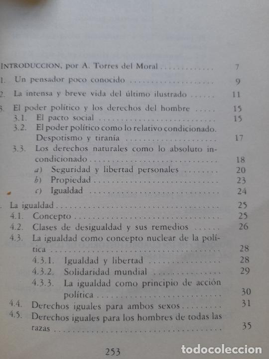 Libros de segunda mano: Bosquejo de un cuadro histórico de los progresos del espíritu humano Condorcet, J.A. Nicolas, - Foto 9 - 288489258