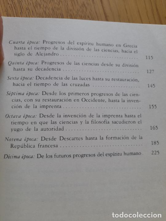 Libros de segunda mano: Bosquejo de un cuadro histórico de los progresos del espíritu humano Condorcet, J.A. Nicolas, - Foto 11 - 288489258