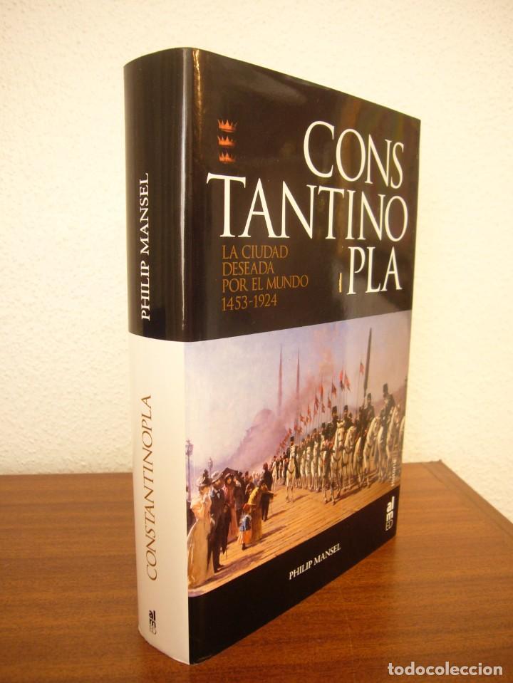 PHILIP MANSEL: CONSTANTINOPLA. LA CIUDAD DESEADA POR EL MUNDO 1453-1924 (ALMED, 2006) PERFECTO (Libros de Segunda Mano - Historia - Otros)