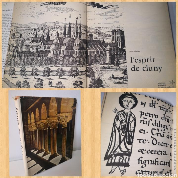 1963 - EL ESPÍRITU DE CLUNY. ARTE ROMÁNICO. ZODIAQUE. SPRIT CLUNY (Libros de Segunda Mano - Bellas artes, ocio y coleccionismo - Otros)