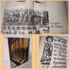Libros de segunda mano: 1963 - EL ESPÍRITU DE CLUNY. ARTE ROMÁNICO. ZODIAQUE. SPRIT CLUNY. Lote 288532708