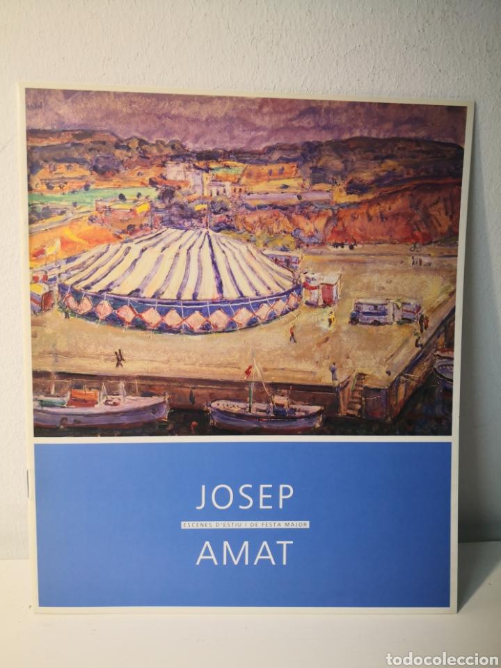 JOSEP AMAT. CATÁLOGO ESCENES D'ESTIU DE FESTA MAJOR, 2001 (Libros de Segunda Mano - Bellas artes, ocio y coleccionismo - Otros)