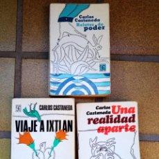 Libros de segunda mano: LOTE 3 LIBROS CARLOS CASTANEDA. Lote 288563518