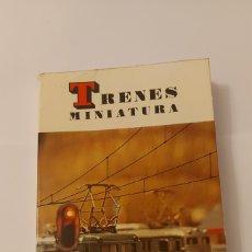 Libros de segunda mano: TRENES MINIATURA - MARC JASINSKI LIBRO DE MODELISMO FERROVIARIO DAIMON. Lote 288571903