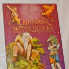 Libros de segunda mano: CRIATURAS MITOLÓGICAS - SUSAETA - ILUSTRADO. Lote 288583853