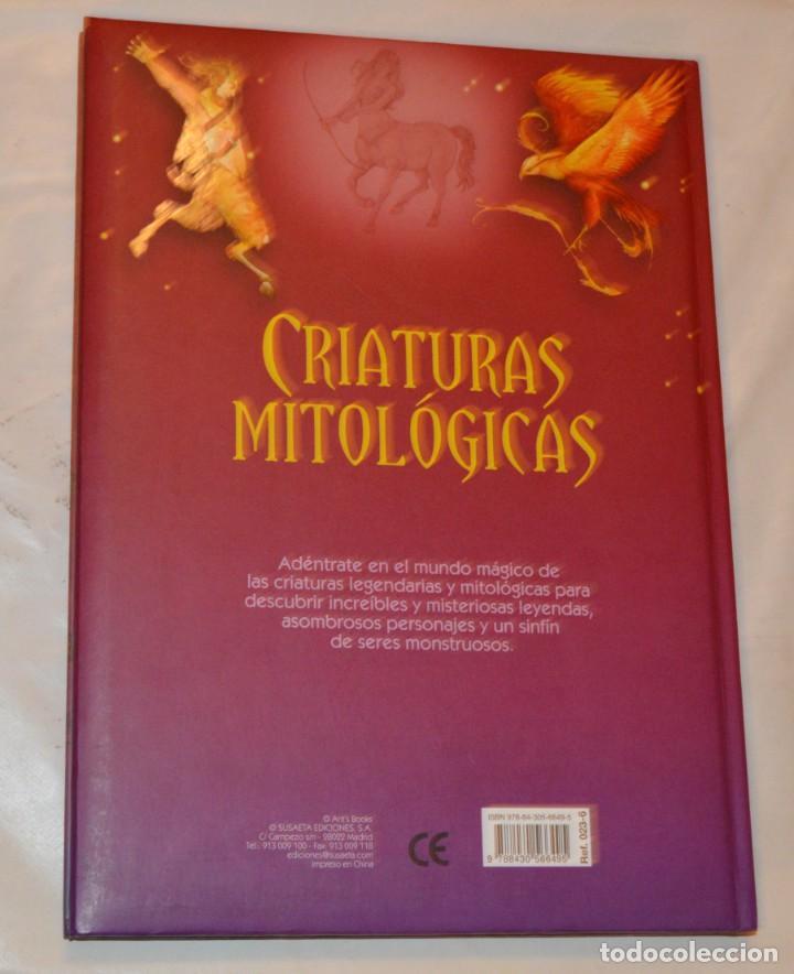 Libros de segunda mano: CRIATURAS MITOLÓGICAS - SUSAETA - ILUSTRADO - Foto 5 - 288583853