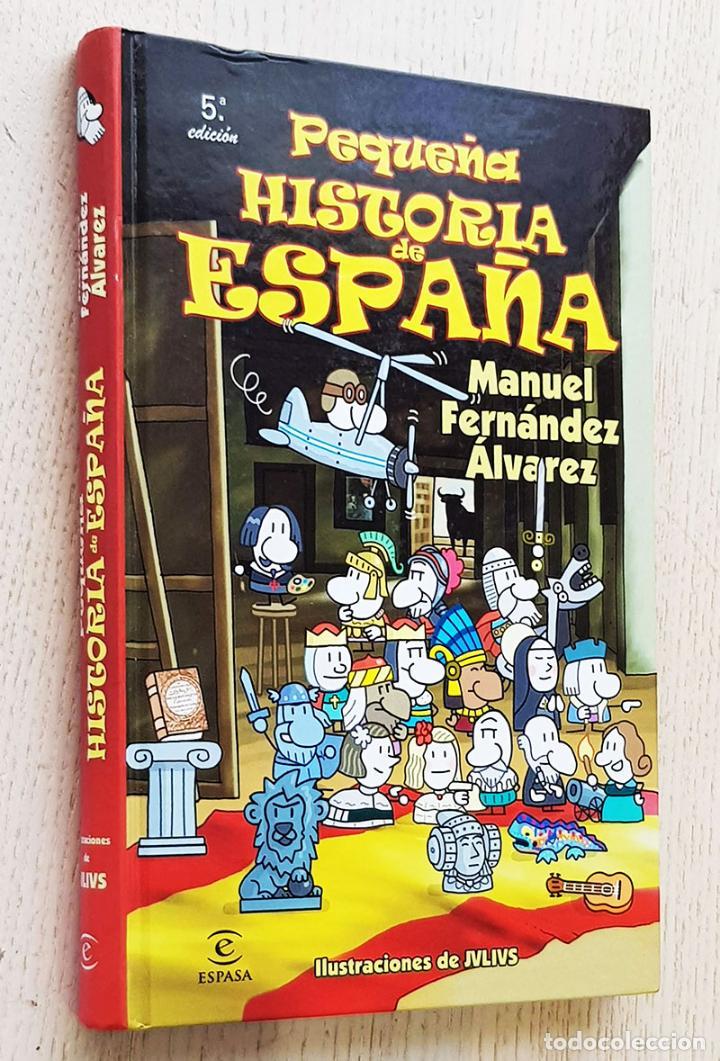 PEQUEÑA HISTORIA DE ESPAÑA - FERNANDEZ ÁLVAREZ, MANUEL (TEXTOS) / JULIUS (JULIO CARABIAS, ILUSTR.) (Libros de Segunda Mano - Literatura Infantil y Juvenil - Otros)
