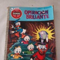 Libros de segunda mano: 46905 - OPERACION BRILLANTE - WALT DISNEY - COLECCION DUMBO - Nº 98 - AÑO 1973. Lote 288610053