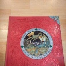 Libros de segunda mano: 'EL GRAN LIBRO DE LOS DRAGONES'. MONTENA. Lote 288610383