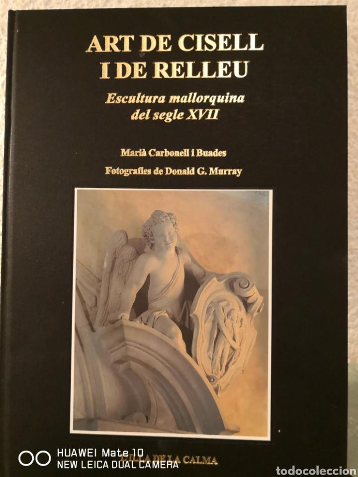 Libros de segunda mano: Art ide cistell I de relleu escultura mallorquina del segle XVII - Foto 2 - 288613068