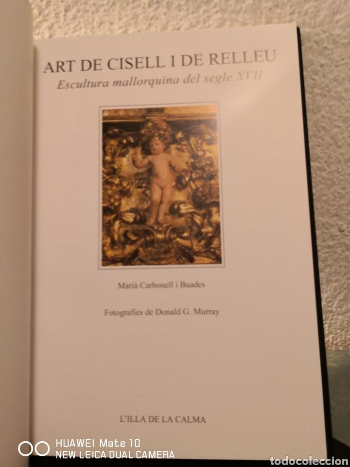 Libros de segunda mano: Art ide cistell I de relleu escultura mallorquina del segle XVII - Foto 3 - 288613068