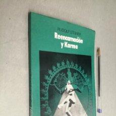 Libros de segunda mano: REENCARNACIÓN Y KARMA / RUDOLF STEINER / ED. DÉDALO - BUENOS AIRES 1987. Lote 288909413