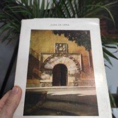 Libros de segunda mano: CASAS BLASONADAS DE SEGOVIA. JUAN DE VERA. EDITORIAL CAJA DE AHORROS DE SEGOVIA. 1983. Lote 288915778