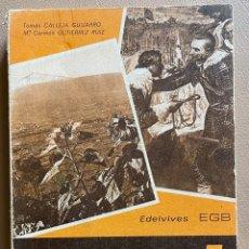 Libros de segunda mano: ESPAÑA Y SUS HOMBRES 5. TOMAS CALLEJA GUIJARRO / Mª. CARMEN GUTIERREZ RUIZ.. Lote 288927663