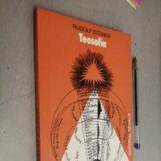 Libros de segunda mano: TEOSOFÍA / RUDOLF STEINER / EDITORIAL DÉDALO - BUENOS AIRES 1988. Lote 288971083