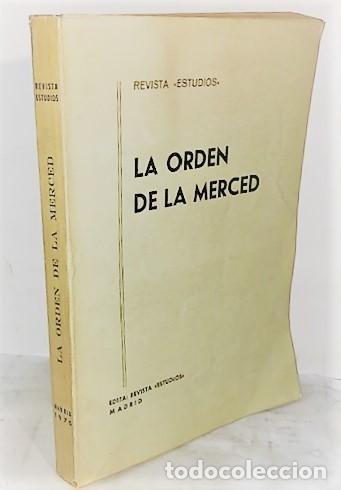 REVISTA ESTUDIOS LA ORDEN DE LA MERCED ... 1970 (Libros de Segunda Mano - Historia - Otros)
