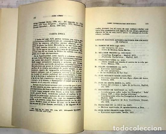 Libros de segunda mano: REVISTA ESTUDIOS LA ORDEN DE LA MERCED ... 1970 - Foto 3 - 288985228