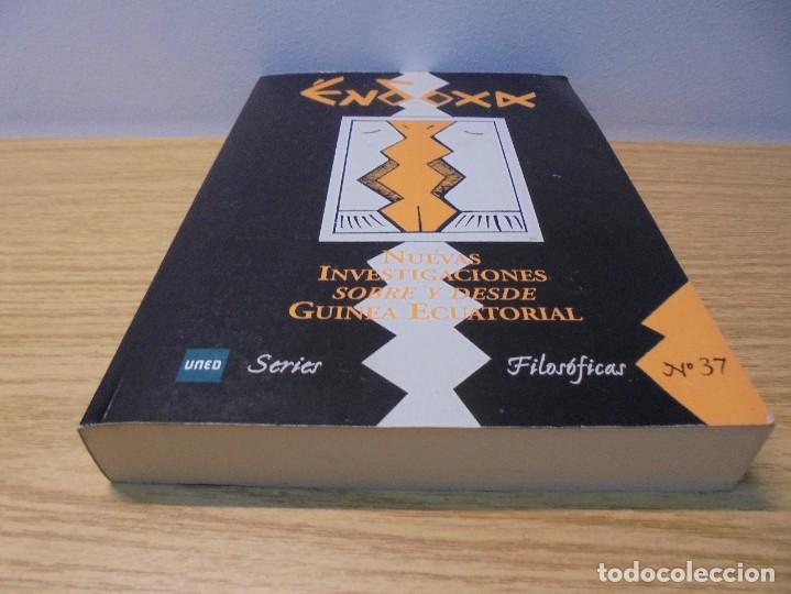 Libros de segunda mano: NUEVAS INVESTIGACIONES SOBRE Y DESDE GUINEA ECUATORIAL. ENDOXA SERIES FILOSOFICAS Nº 37. UNED - Foto 3 - 288987008