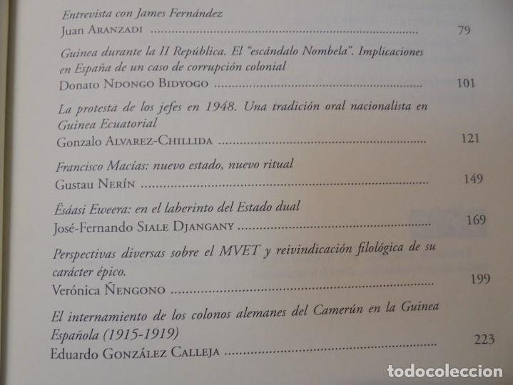 Libros de segunda mano: NUEVAS INVESTIGACIONES SOBRE Y DESDE GUINEA ECUATORIAL. ENDOXA SERIES FILOSOFICAS Nº 37. UNED - Foto 11 - 288987008