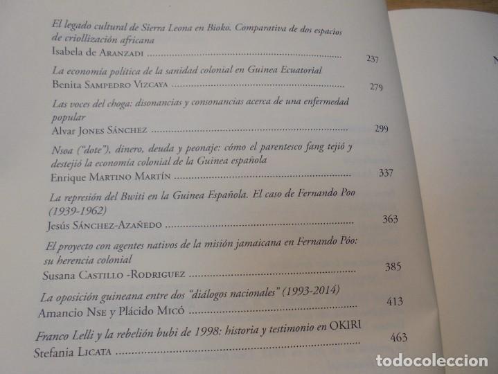 Libros de segunda mano: NUEVAS INVESTIGACIONES SOBRE Y DESDE GUINEA ECUATORIAL. ENDOXA SERIES FILOSOFICAS Nº 37. UNED - Foto 12 - 288987008
