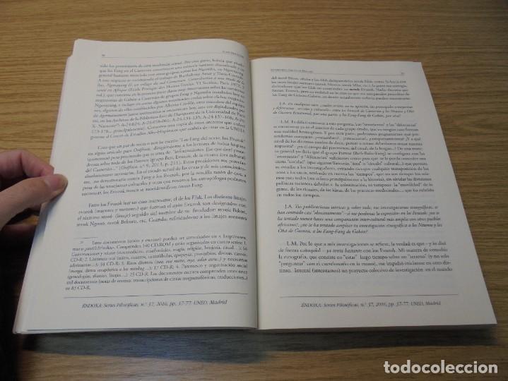 Libros de segunda mano: NUEVAS INVESTIGACIONES SOBRE Y DESDE GUINEA ECUATORIAL. ENDOXA SERIES FILOSOFICAS Nº 37. UNED - Foto 14 - 288987008