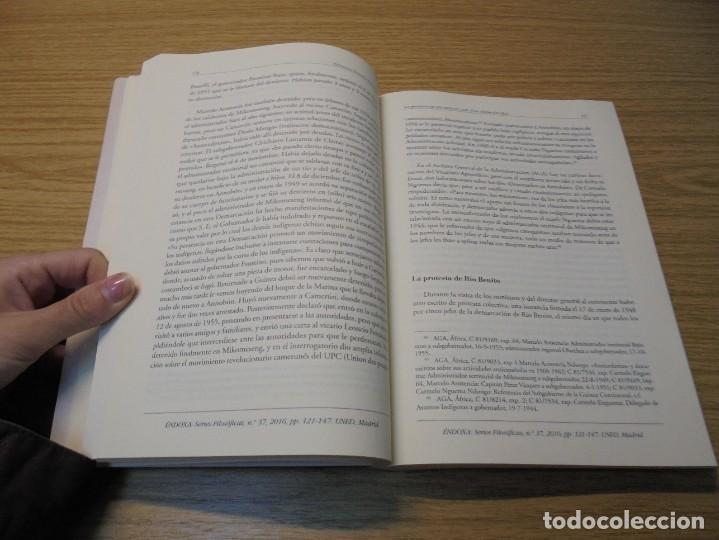Libros de segunda mano: NUEVAS INVESTIGACIONES SOBRE Y DESDE GUINEA ECUATORIAL. ENDOXA SERIES FILOSOFICAS Nº 37. UNED - Foto 15 - 288987008