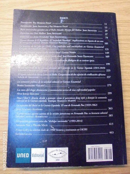 Libros de segunda mano: NUEVAS INVESTIGACIONES SOBRE Y DESDE GUINEA ECUATORIAL. ENDOXA SERIES FILOSOFICAS Nº 37. UNED - Foto 19 - 288987008