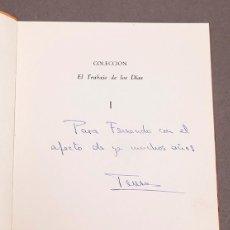 Libros de segunda mano: CRISTINO MALLO - TERESA ARCE - DEDICATORIA AUTÓGRAFA DE LA AUTORA. Lote 289199758