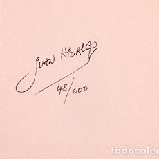 Libros de segunda mano: JUAN HIDALGO - ZAJ - FIRMADO Y NUMERADO 48/200 - 1988. Lote 289237083