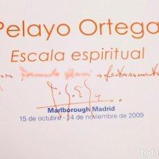 Libros de segunda mano: PELAYO ORTEGA - GALERÍA MALBOROUGH - 2009 - DEDICATORIA AUTÓGRAFA. Lote 289241513