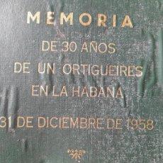 Libros de segunda mano: CUBA. MEMORIA DE 30 AÑOS DE UN ORTIGUEIRES EN LA HABANA. ESCRITO A MAQUINA, ANTONIO COUZO, RARISIMO. Lote 289256273