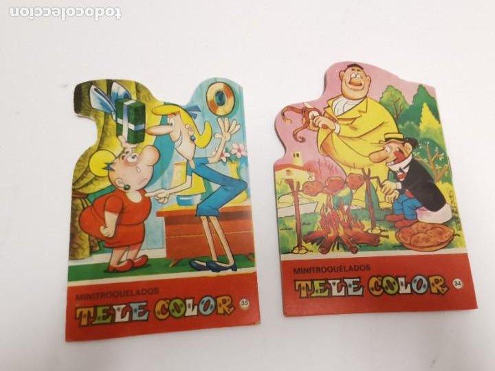 Libros de segunda mano: CU-152. PAREJA DE CUENTOS TELE COLOR. MINITROQUELADOS. - Foto 2 - 289294243