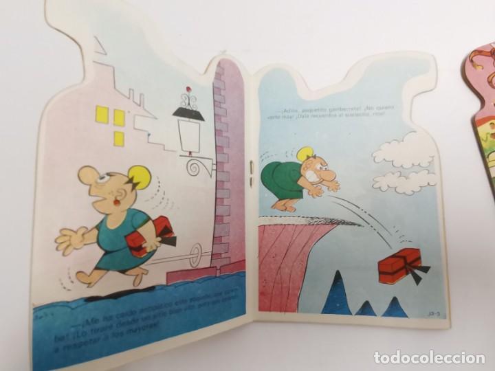 Libros de segunda mano: CU-152. PAREJA DE CUENTOS TELE COLOR. MINITROQUELADOS. - Foto 3 - 289294243