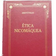 Libros de segunda mano: ÉTICA NICOMÁQUEA. ARISTÓTELES (ED. GREDOS).. Lote 289305933