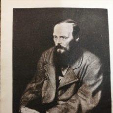 Libros de segunda mano: AGUILAR, OBRAS COMPLETAS DOSTOYEVSKI, 1953, (3 TOMOS). Lote 289459968