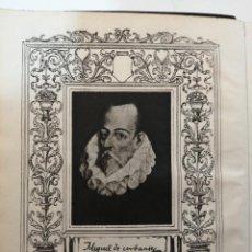 Libros de segunda mano: AGUILAR, OBRAS COMPLETAS MIGUEL DE CERVANTES, 1952. Lote 289460498
