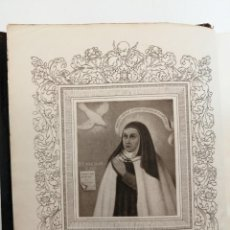 Libros de segunda mano: AGUILAR, OBRAS COMPLETAS SANTA TERESA DE JESUS, 1951. Lote 289461968