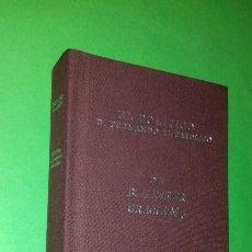 Libros de segunda mano: BALTASAR GRACIAN: EL POLITICO D. FERNANDO EL CATOLICO. FACSÍMIL . DIPUTACION DE ZARAGOZA, 2000.. Lote 289481288