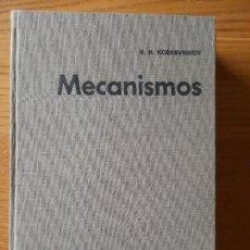 Libros de segunda mano: MECANISMOS. S.N. KOZHEVNIKOV, DESCRIPCION DE MAS DE 200 MECANISMOS, ED. GG. 1970 RARISIMO. Lote 289486738