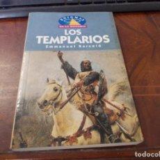 Libros de segunda mano: LOS TEMPLARIOS, EMMANUEL BARCELÓ. ENIGMAS DE LA HISTORIA. 1.996 M.E. EDITORES, S.L.. Lote 289499828