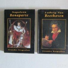 Libros de segunda mano: PACK BIOGRAFÍAS - NAPOLEÓN Y BEETHOVEN. Lote 289520418
